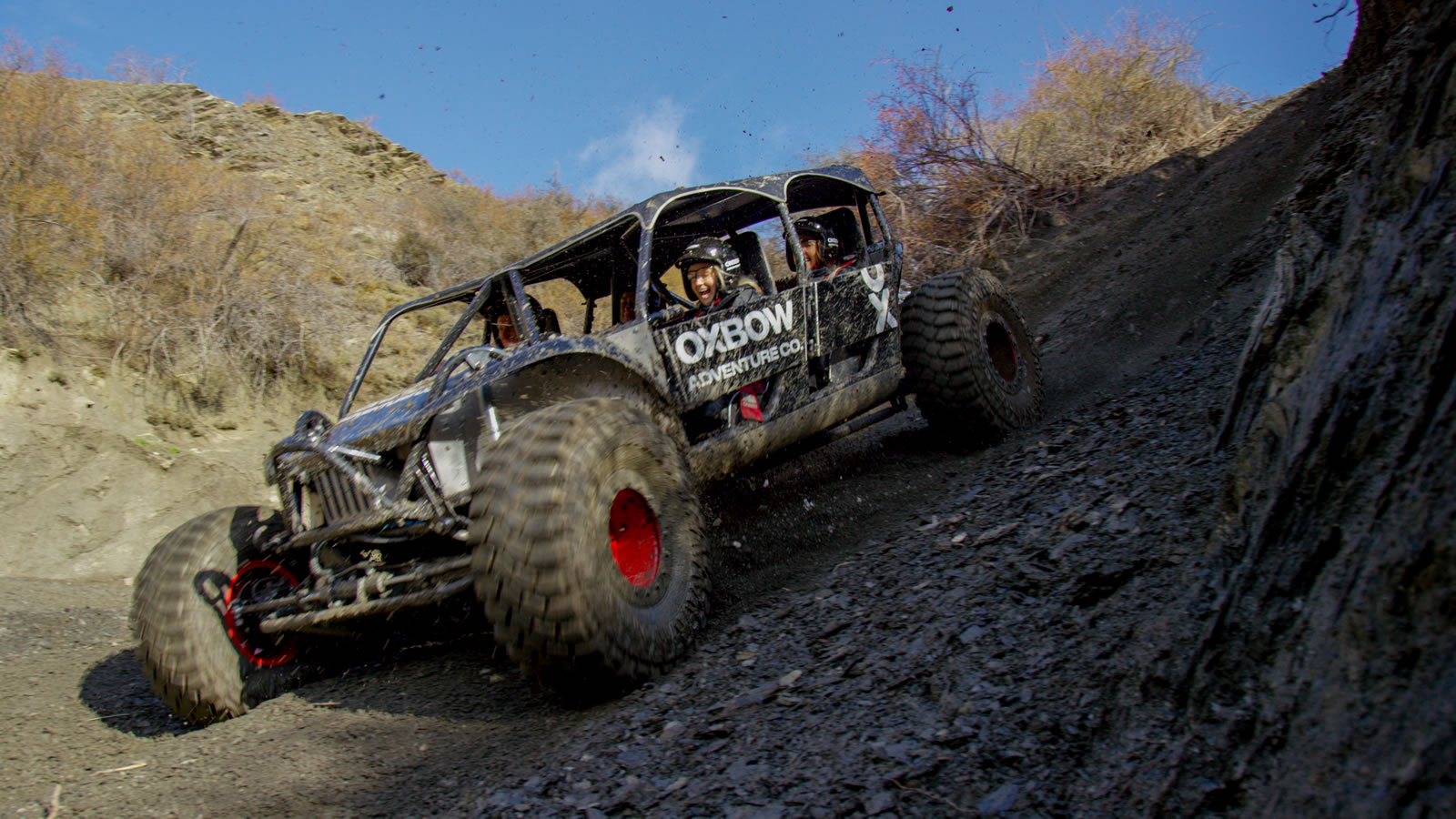 Off-road activity in action